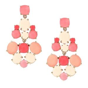 KATE SPADE • Pretty In Pink Chandelier Earrings